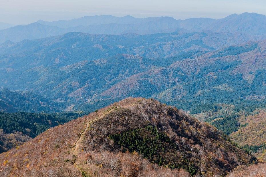 2016.11.07取立山3こつぶり山への坂