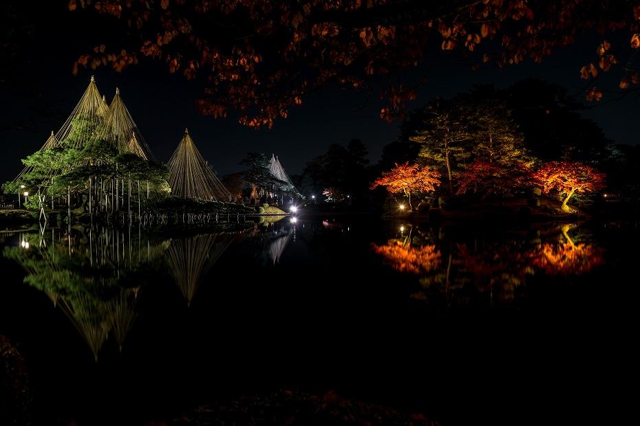 2016.11.18兼六園のライトアップ9