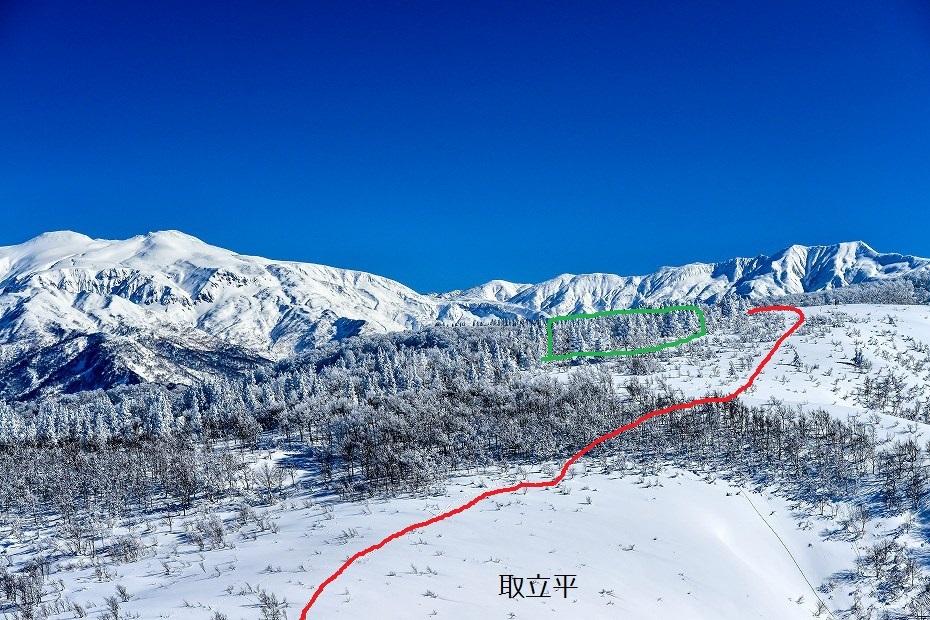 2017.01.26取立山山頂から16