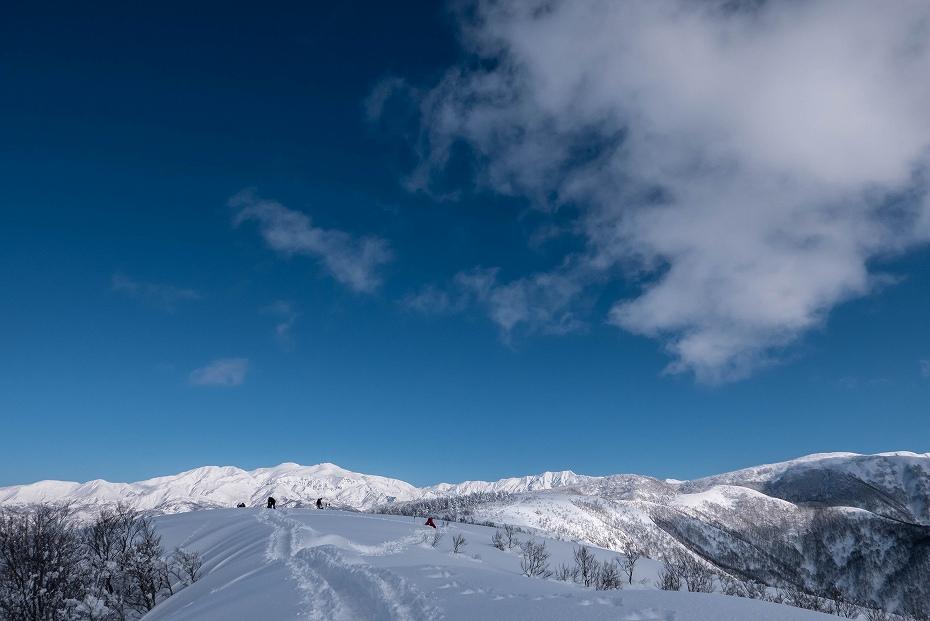 2017.01.26取立山から1339mへ22