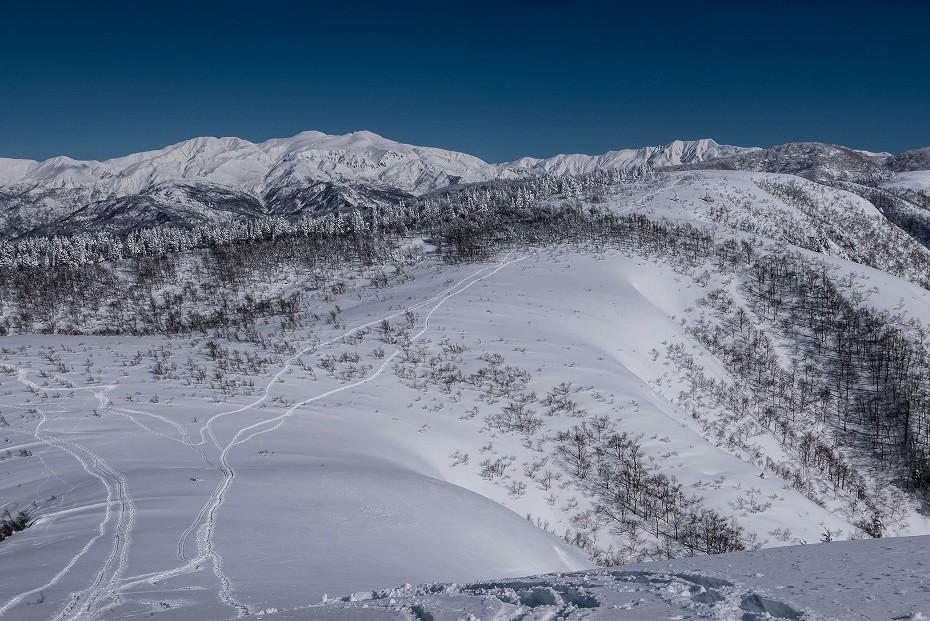 2017.01.26取立山から1339mへ20