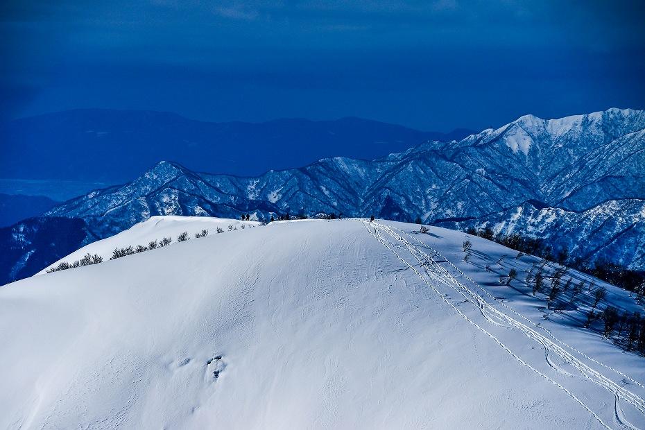 2017.01.26取立山から1339mへ15