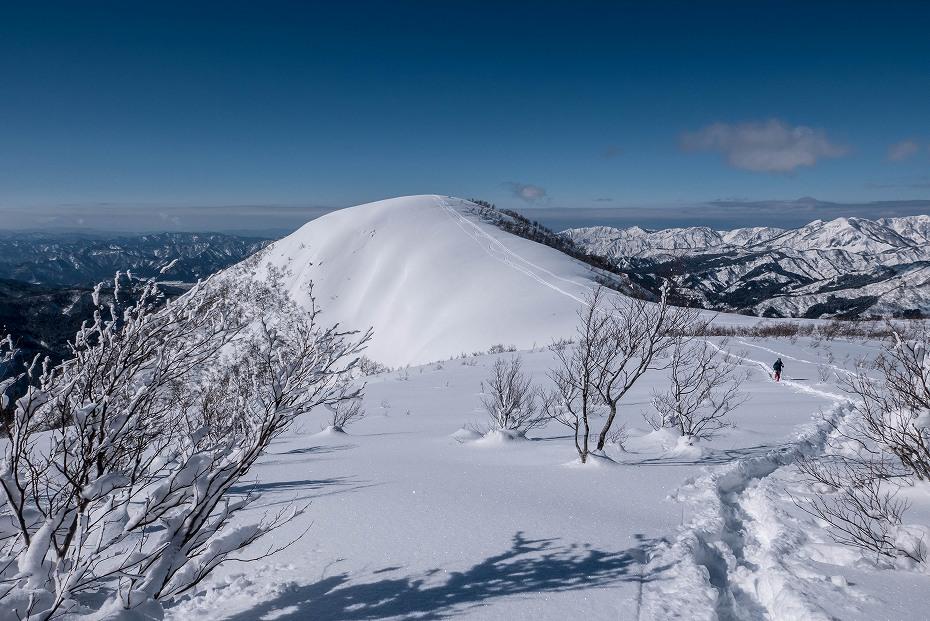 2017.01.26取立山から1339mへ4
