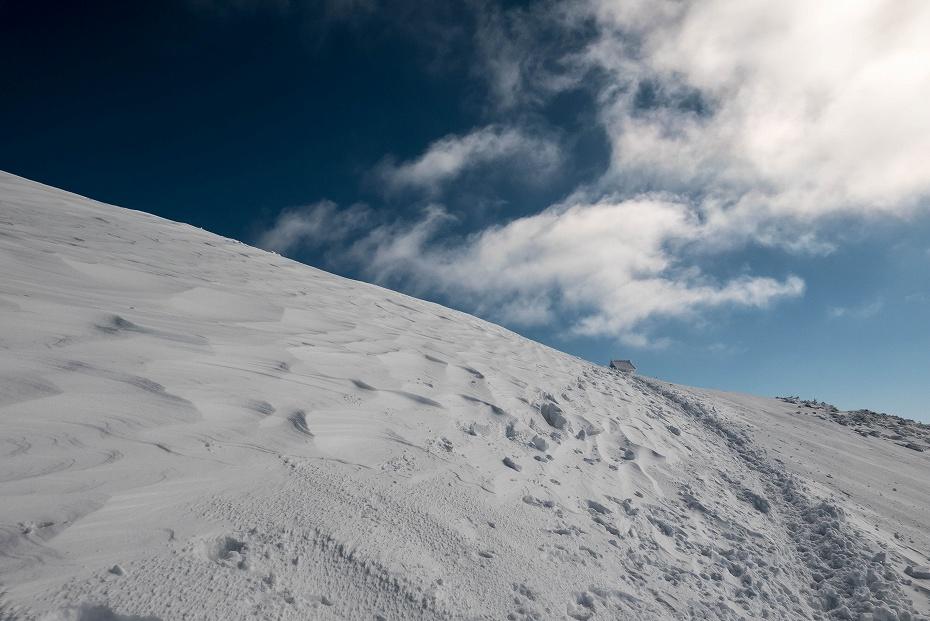 2017.02.04荒島岳もちがかべ~頂上21