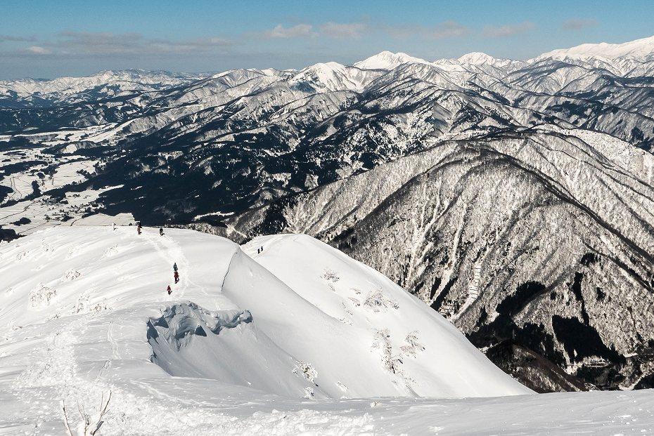 2017.02.04荒島岳もちがかべ~頂上19