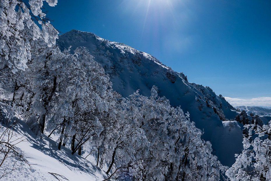 2017.02.04荒島岳もちがかべ~頂上7