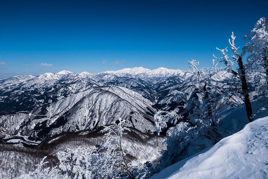 2017.02.04荒島岳もちがかべ~頂上4