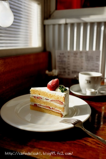 NASU SHOZO CAFE◇いちごのショートケーキ