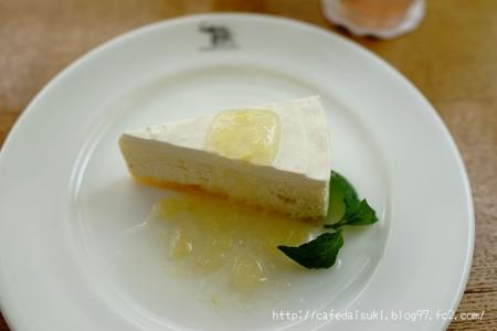 NASU SHOZO CAFE◇白いチーズケーキのレモンソース