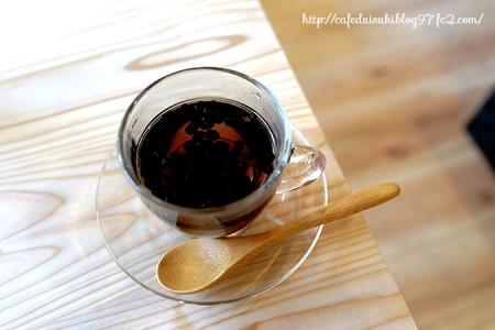 庭の家のカフェ ひだまり◇自家焙煎黒千石茶