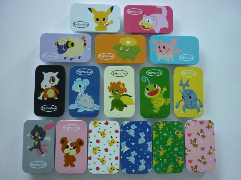 プチ缶コレクション pokemon time