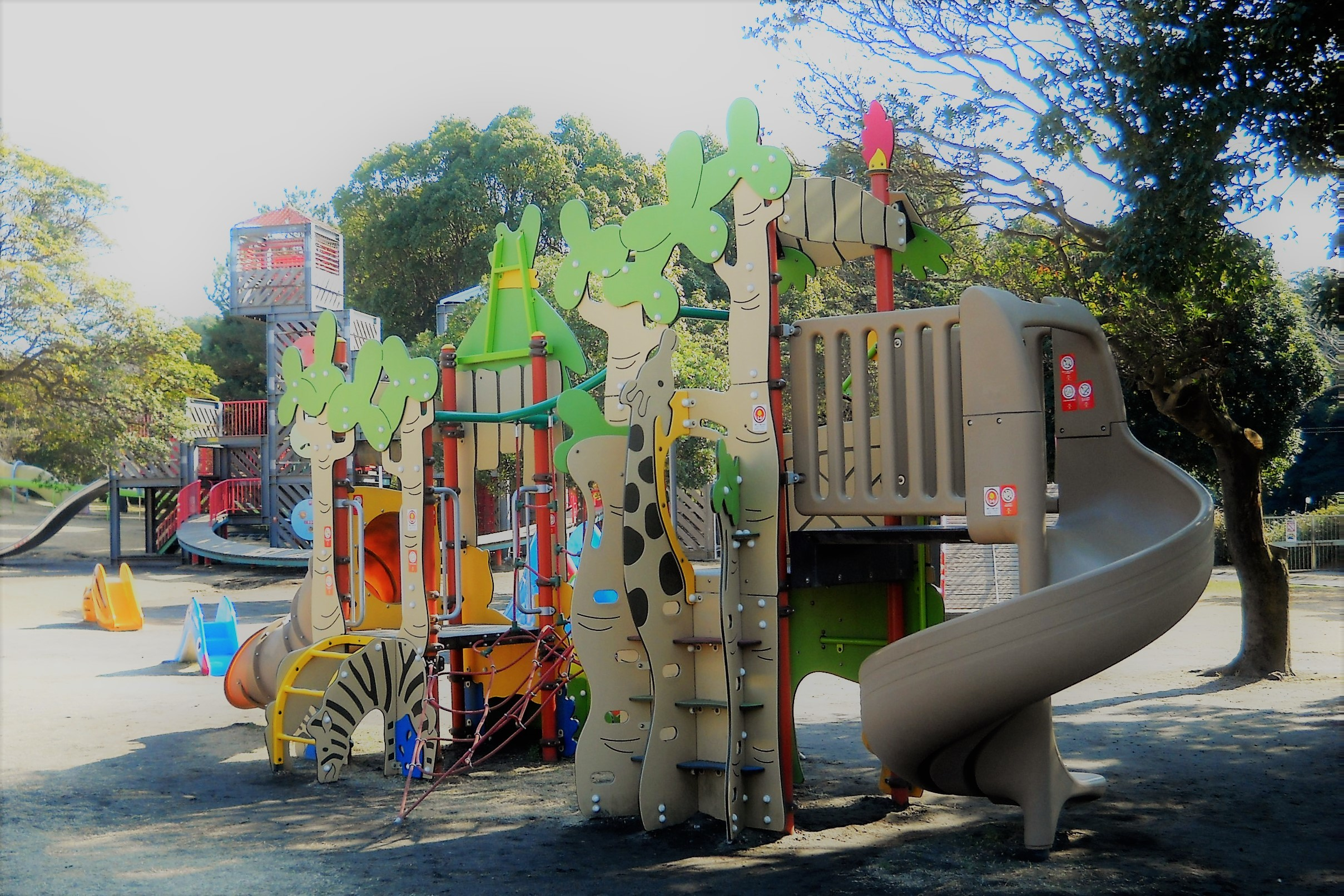 遊具 吉野公園