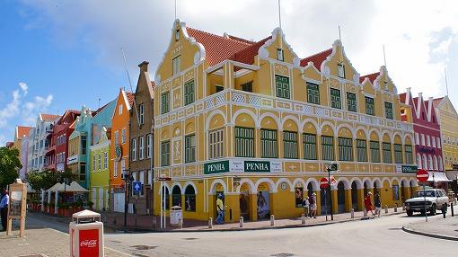オランダ風のカラフルな建物