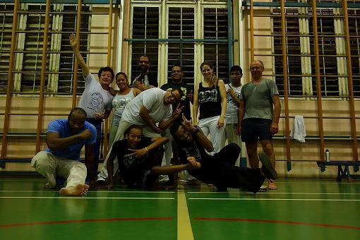 Capoeira Brasil Curacaoのみなさんと