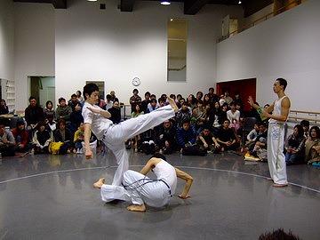 カポエイラ入門発売記念イベント