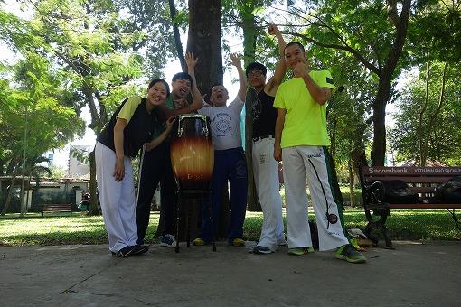 Capoeira Vietnam HoChiMihnのみなさんと