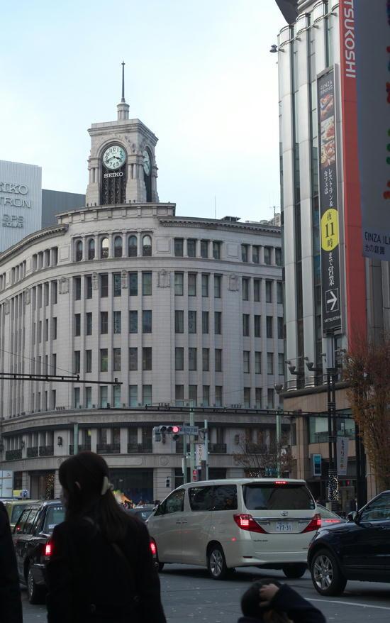 銀座-服部時計店179