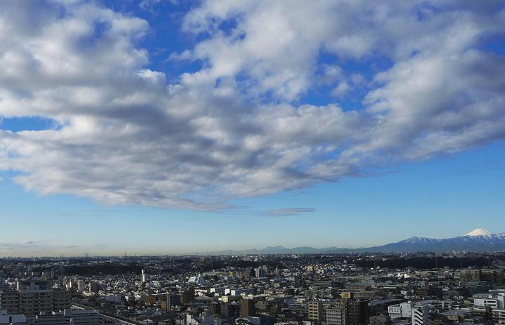 富士山-1月10日