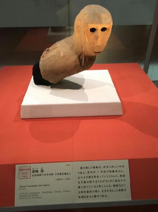 埴輪猿-360