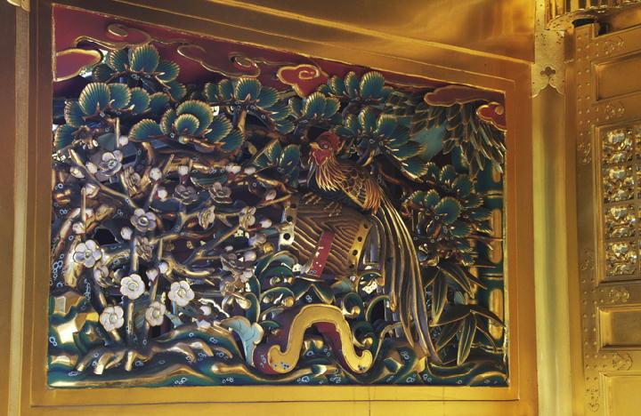 唐門の彫刻-150
