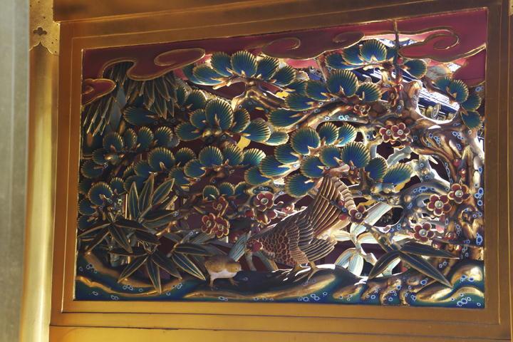 唐門の彫刻-153