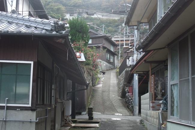 大崎上島木江の町並み