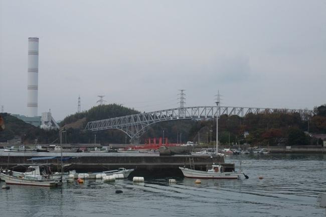 大崎上島の長島大橋