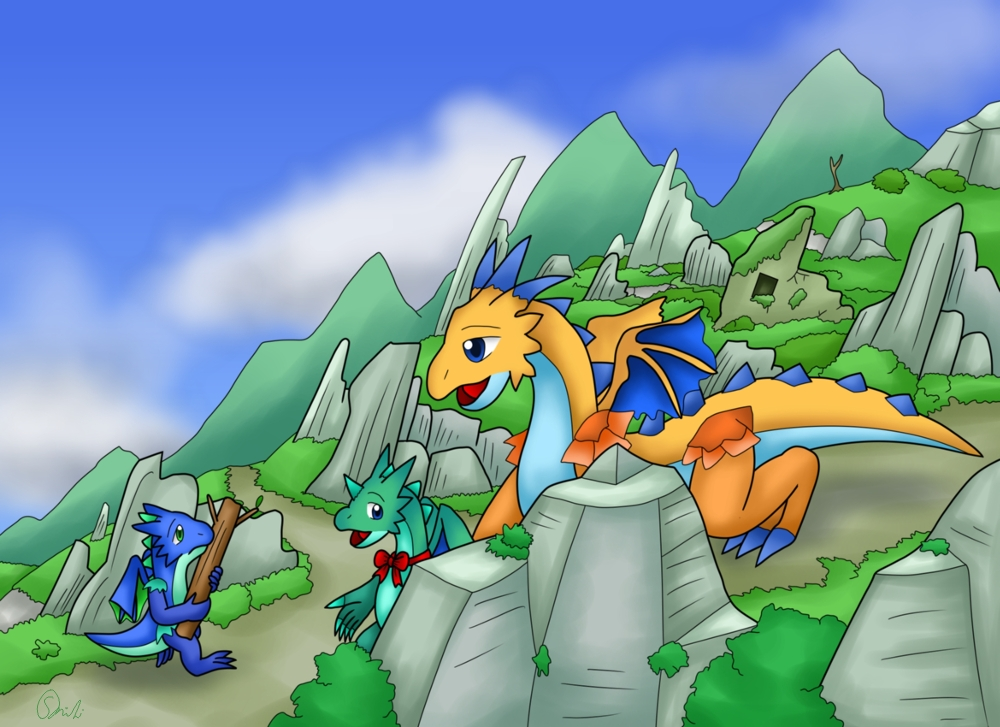 Dragon-Blu-Gre-Org 161030