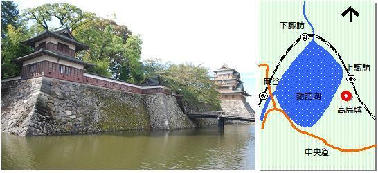 高島城マップ