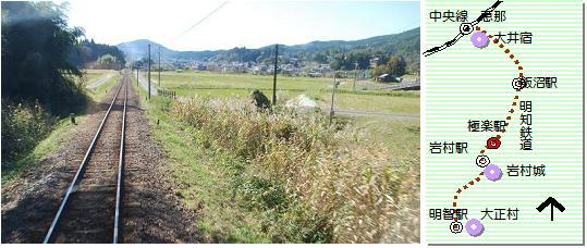 明知鉄道マップ