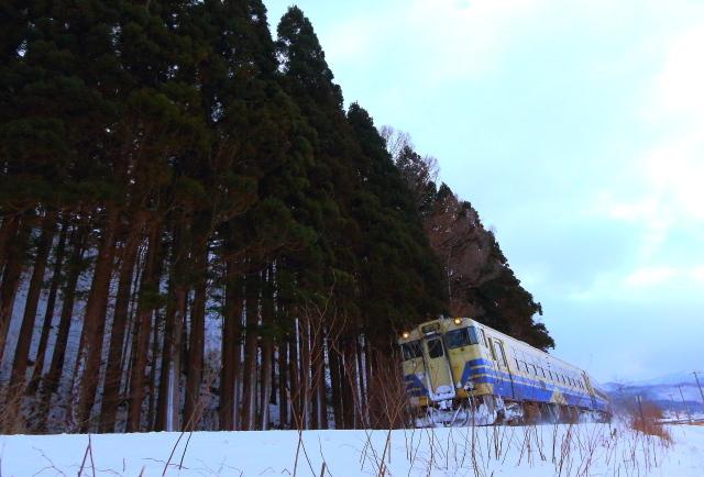 津軽線トリミング