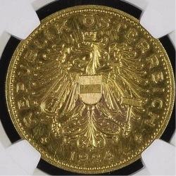austria 1924 100kronen
