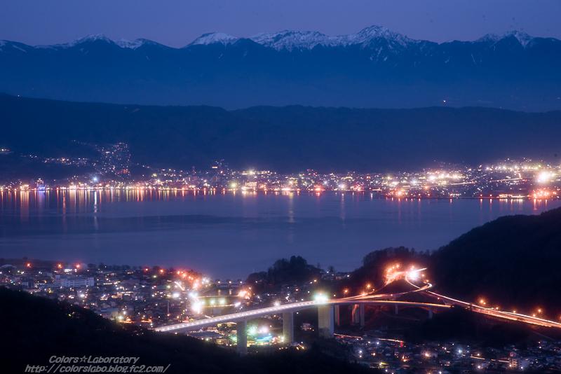 諏訪湖夕景 3