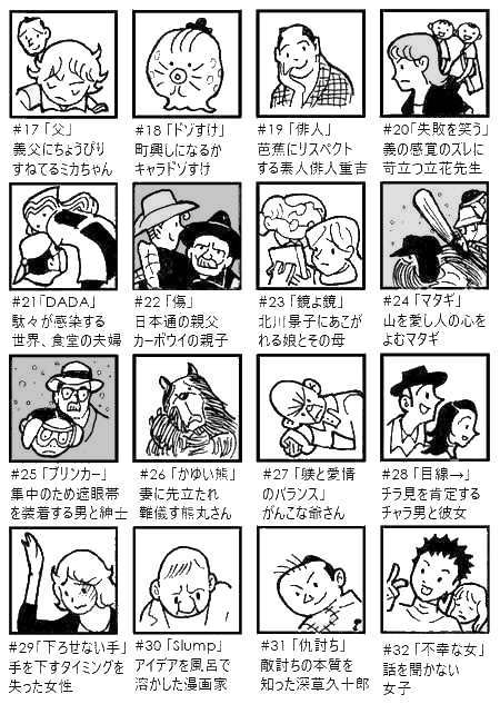 キャラクター名鑑a-2