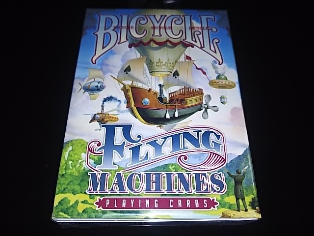 Flying Machines Playing Cards (BICYCLE) (1)