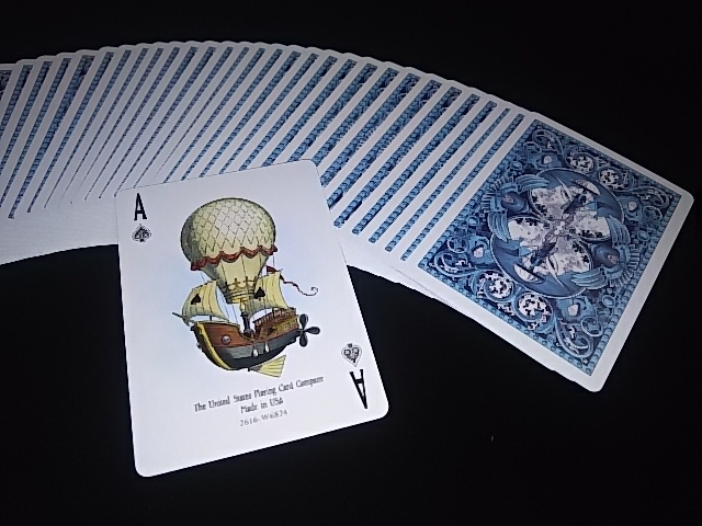 Flying Machines Playing Cards (BICYCLE) (4)