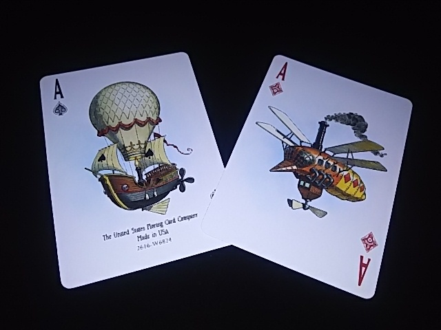 Flying Machines Playing Cards (BICYCLE) (7)