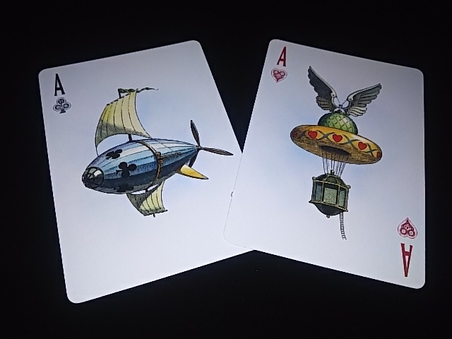 Flying Machines Playing Cards (BICYCLE) (8)