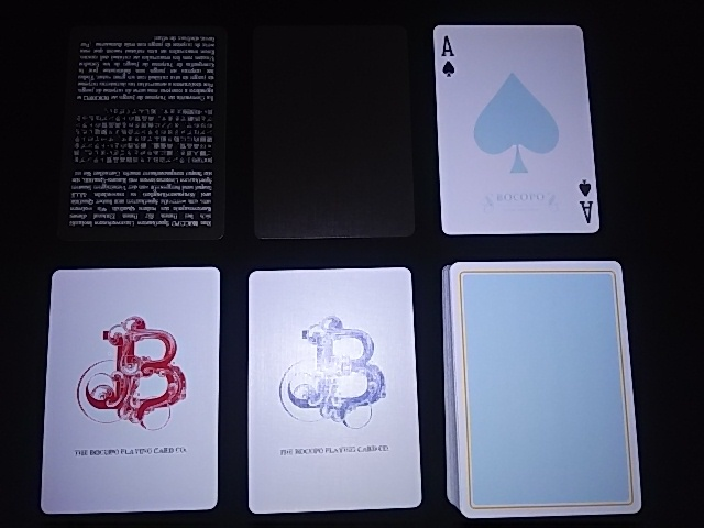 Magician Limited Deck Blue (5)
