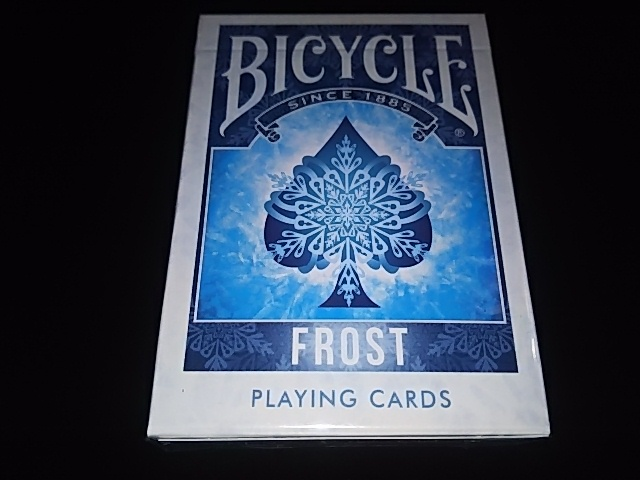 Frost Playing Cards (BICYCLE) (2)