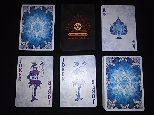 Frost Playing Cards (BICYCLE) (5)