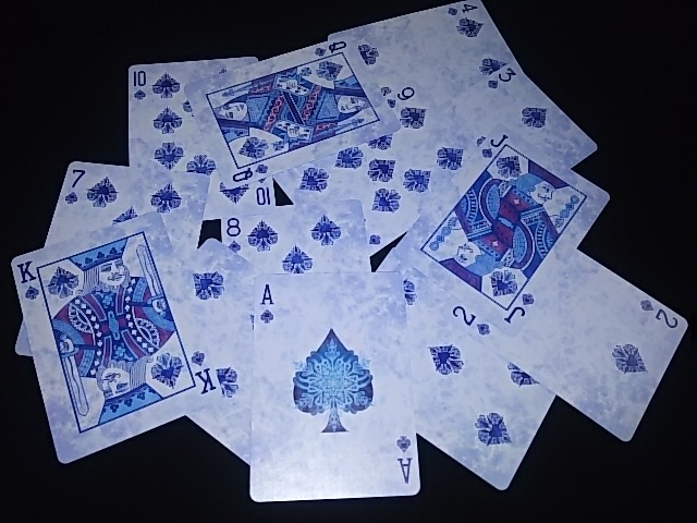 Frost Playing Cards (BICYCLE) (6)