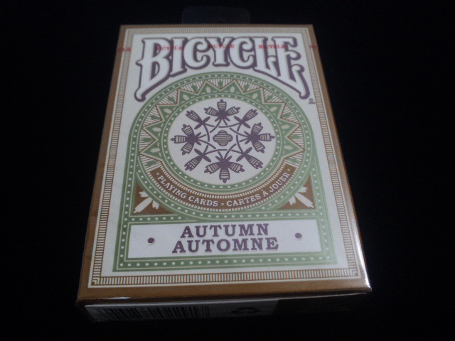 Autumn Playing Cards (BICYCLE) (1)
