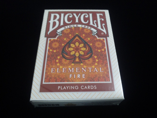 Elemental Fire Collectable Playing Cards (BICYCLE) (2)