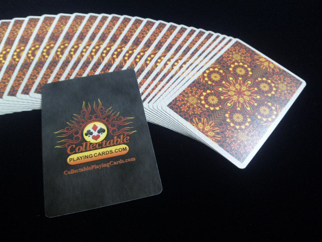 Elemental Fire Collectable Playing Cards (BICYCLE) (4)
