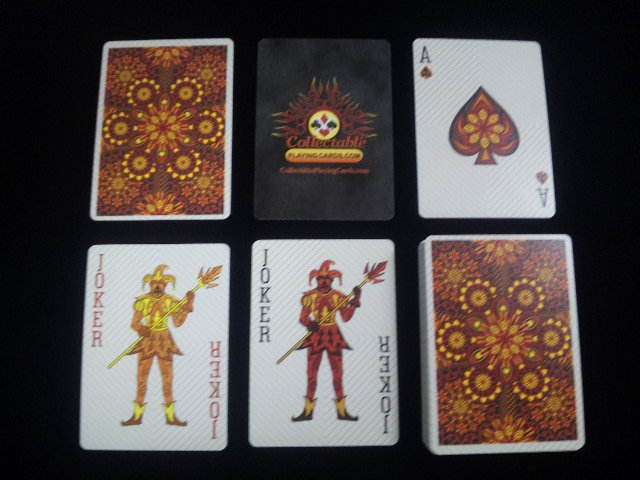 Elemental Fire Collectable Playing Cards (BICYCLE) (5)