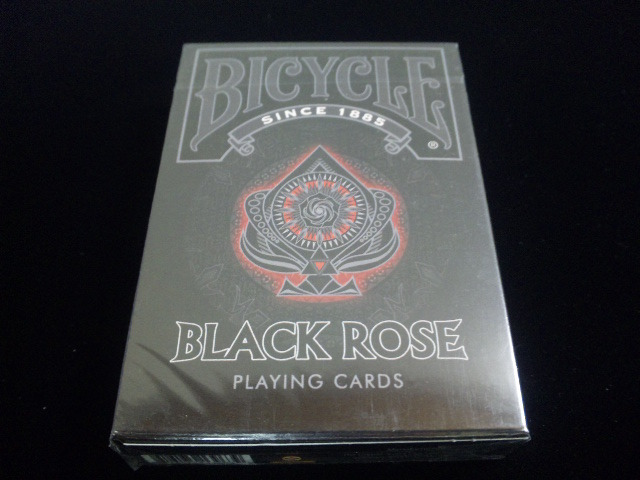 Black Rose Playing Cards (BICYCLE) (1)