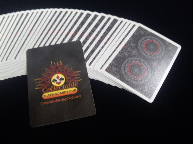 Black Rose Playing Cards (BICYCLE) (4)