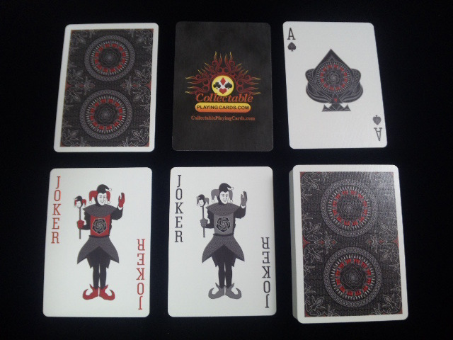 Black Rose Playing Cards (BICYCLE) (5)