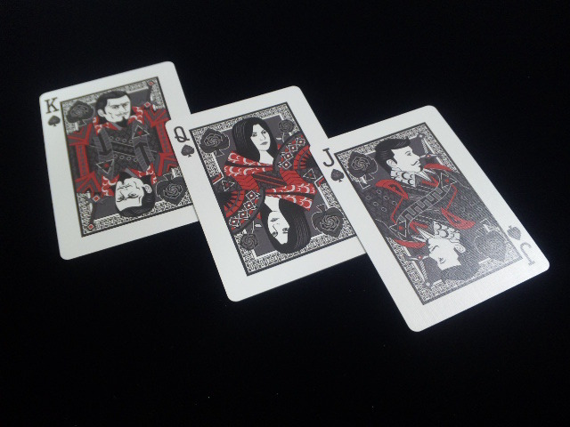 Black Rose Playing Cards (BICYCLE) (8)